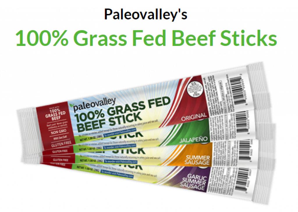 paleovalley Beef Sticks review