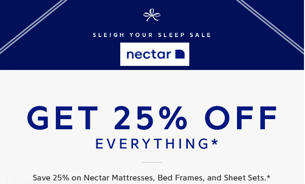 Nectar $125 Off Discount Code