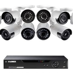 64% Off 1080p Camera System with 8 Outdoor wide angle cameras