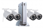 67% off Wireless Camera System with 4 cameras with 120 feet night vision