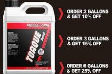 10% Off Torque Detail Coupon & Discount Code + Free Shipping