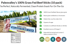 Buy Paleovalley Grass Fed Beef sticks nutrition 30% off [DEAL]