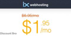 71% Off ix webhosting Coupon Code [Secret Link]