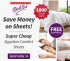$50 off Overstock Sheet Club Coupon Codes